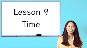Picture of Lesson 9 Time