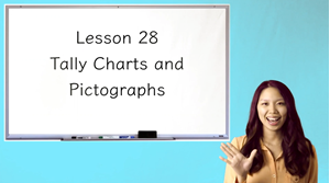 Picture of Lesson 28 Tally Charts and Pictographs