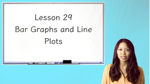 Picture of Lesson 29 Bar Graphs and Line Plots