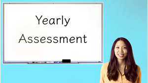 Picture of Yearly Assessment Answer Key