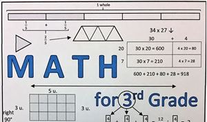 Picture of Math for 3rd Grade