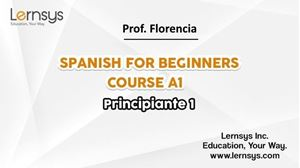 Picture of Spanish for Beginners Course